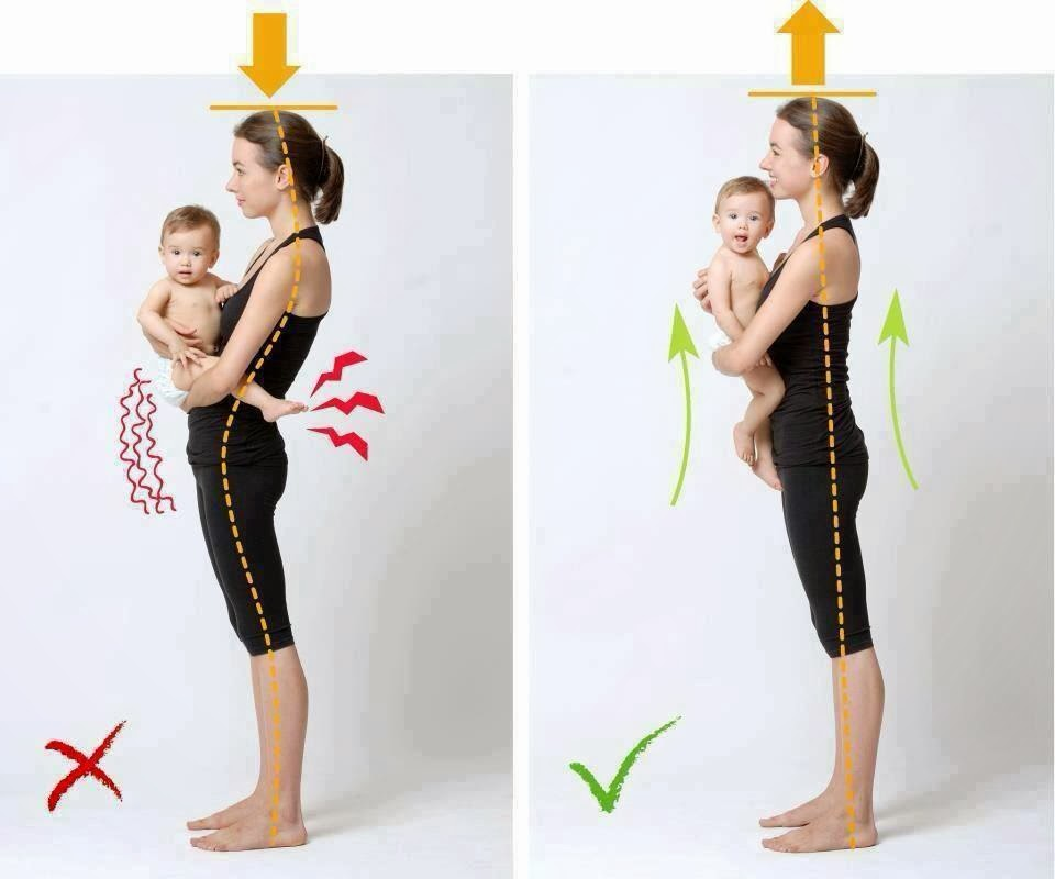 Carry-baby-posture